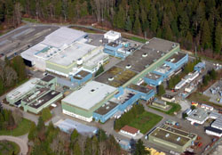 TRIUMF Site, Vancouver B.C. Canada. 